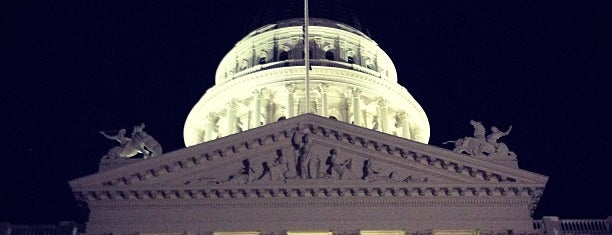 California State Capitol Building is one of The Crowe Footsteps.