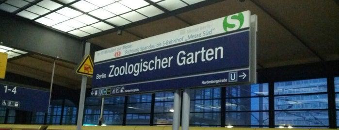 Bahnhof Berlin Zoologischer Garten is one of Besuchte Berliner Bahnhöfe.