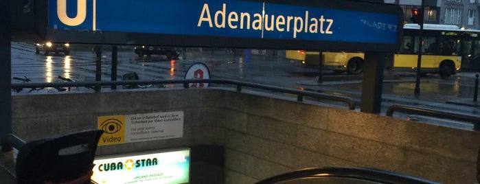 U Adenauerplatz is one of U-Bahn Berlin.