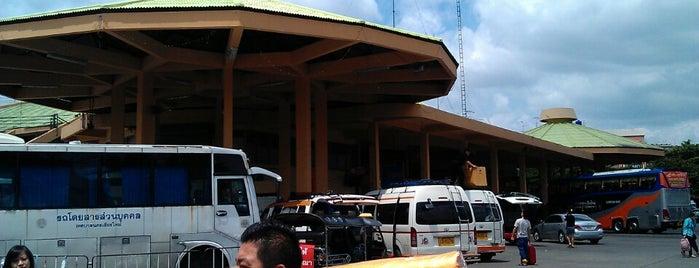 สถานีขนส่งผู้โดยสารเชียงใหม่ แห่งที่ 2 (อาเขต) Chiangmai Bus Terminal 2 (Arcade) is one of Chaing Mai (เชียงใหม่).