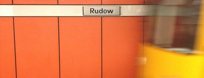 U Rudow is one of U-Bahn Berlin.