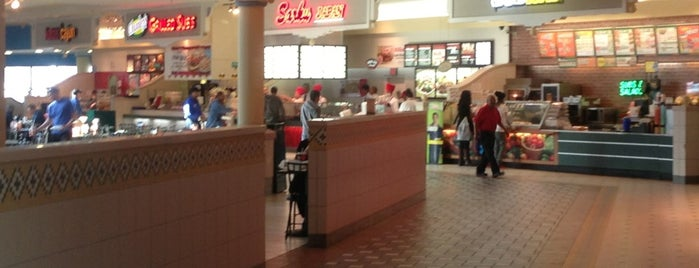 Arbor Place Mall Food Court is one of my places...