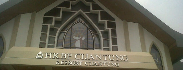 Gereja HKBP Cijantung is one of Distrik 28.