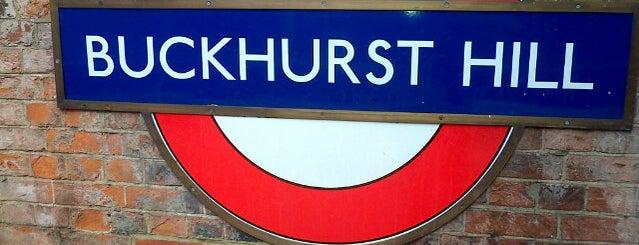Buckhurst Hill London Underground Station is one of Tube Challenge.