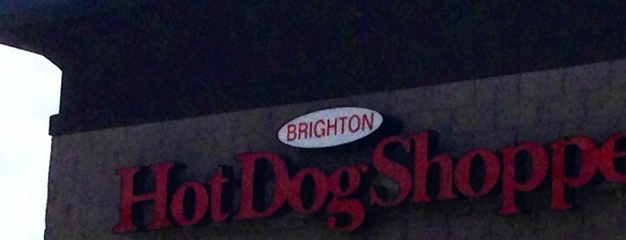 Brighton Hot Dog Shop is one of Most common..