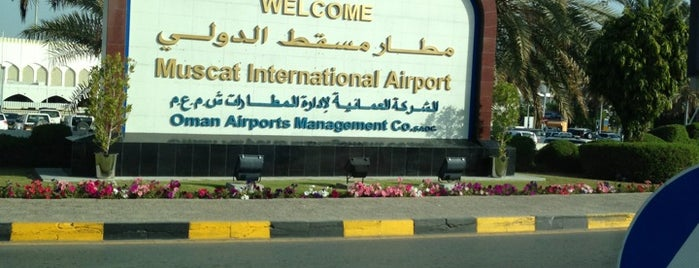 Muscat International Airport (MCT) is one of Airports visited.
