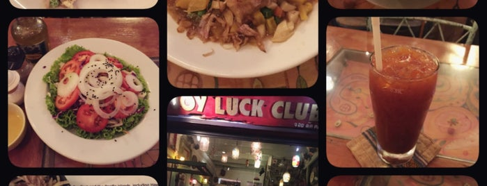 Joy Luck Club พระอาทิตย์ is one of Уютные кафешки.