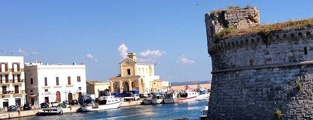 Porto di Gallipoli is one of ITALY BEACHES.