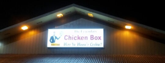 The New Chicken Box Cafe is one of Musts...Charlotte, NC.