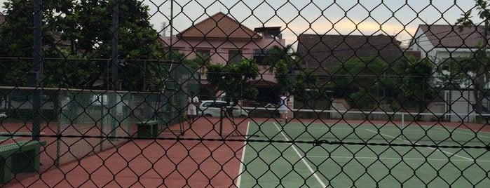 Lapangan Tenis Lebak Lestari is one of Ace Badge (Tennis Court) in Jakarta Indonesia.