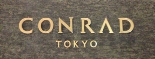 Conrad Tokyo is one of Hotel.