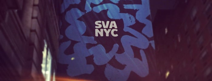 School Of Visual Arts is one of NYC.