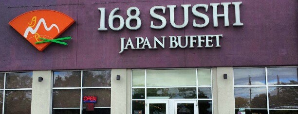 168 Sushi is one of Restaurants.