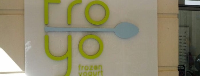 Froyo is one of brunch.