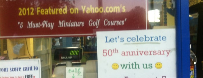 Around the World Golf is one of Guide to Lake George's best spots.