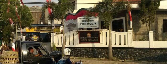 Polsek Margaasih is one of Napak Tilas Perjalanan N9.