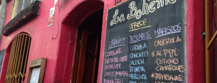 La Boheme is one of Bares, restaurantes y otros....