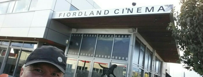 Fiordland Cinema is one of Fun Group Activites around New Zealand.