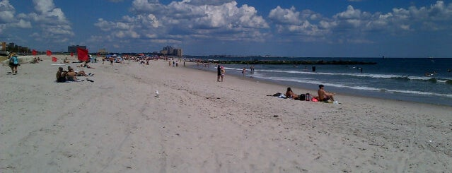 Rockaway Beach - 69th Street is one of Great Outdoor and Swimmies.