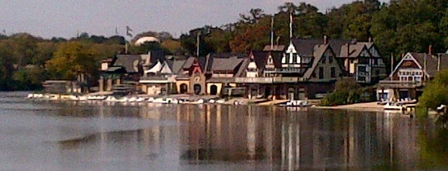 Boathouse Row is one of Historic Sites.