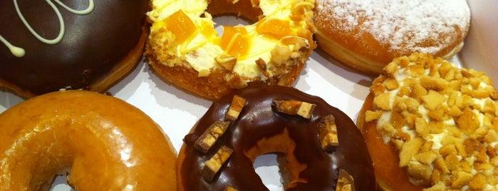 Krispy Kreme is one of Been here :).