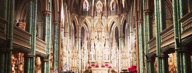 Notre Dame Cathedral Basilica is one of Ottawa.