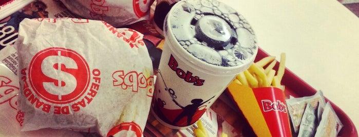 Bob's is one of Tele-entrega.