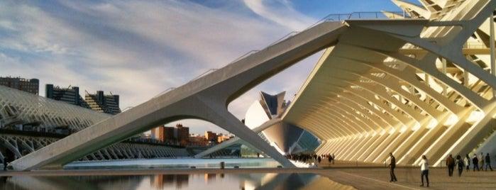 Ciudad de las Artes y las Ciencias is one of 36 hours in...Valencia.