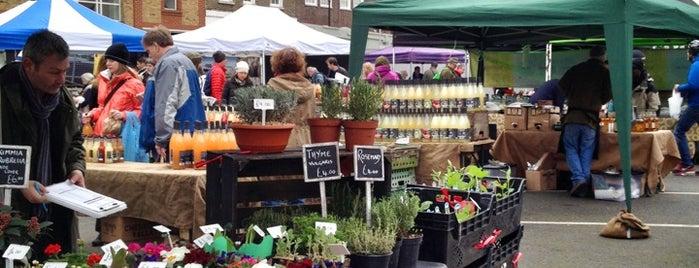 Marylebone Farmers Market is one of London best.