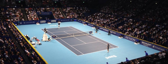 Swiss Indoors Basel 2013 is one of #squareBuckets.