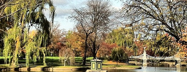 Boston Public Garden is one of Attractions to Visit.