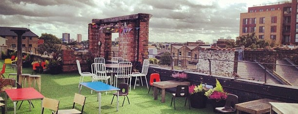 Dalston Roof Park is one of Beautiful Views.