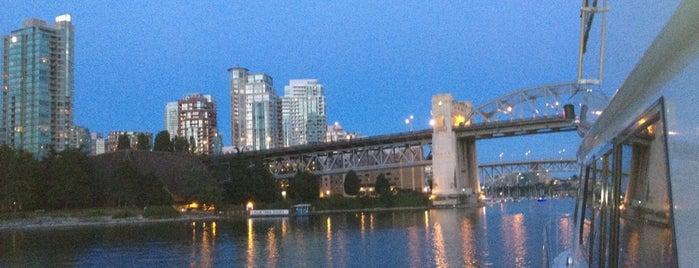 Burrard Street Bridge is one of Vancouver.