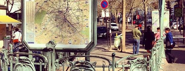 Métro Alexandre Dumas [2] is one of Métro de Paris.