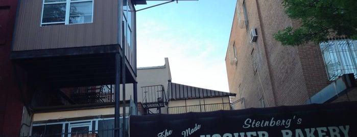 Steinberg's Bakery is one of Baker's Dozen - New York Venues.