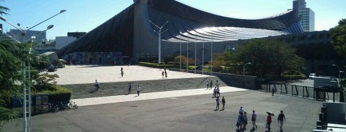 国立代々木競技場 第一体育館 is one of 行った所&行きたい所&行く所.