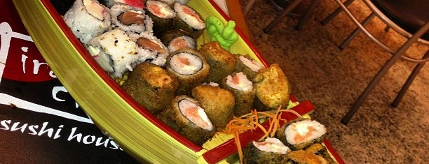 Irachai Sushi House is one of Bento Badge - Places in Natal.