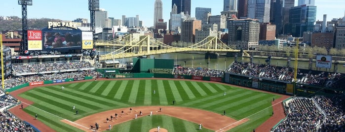 PNC Park is one of Major League Ballparks.