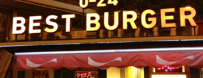 Best Burger is one of Badge ¤ Flame Broiled.