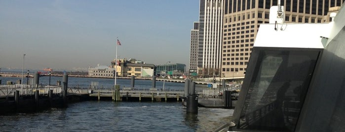 NY Waterway Ferry - Wall St/Pier 11 Terminal is one of Outdoors.