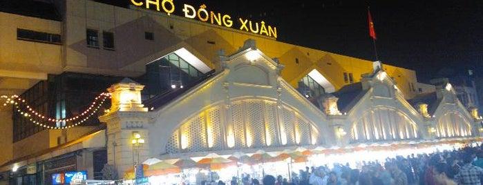 Chợ Đồng Xuân (Dong Xuan Market) is one of du lịch - lịch sử.