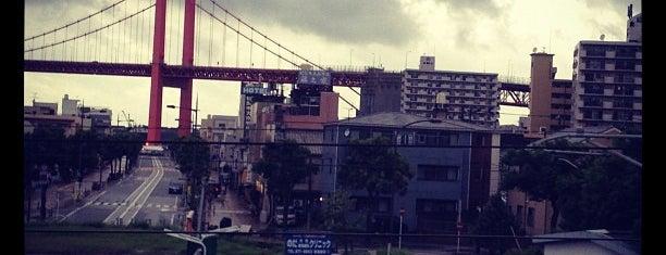 Tobata Station is one of JR.