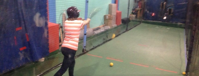 Chelsea Batting Cages is one of Best Spots for Kids - NYC.