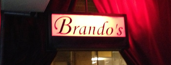 Brando's Speakeasy is one of Happy Hour Hot Spots.