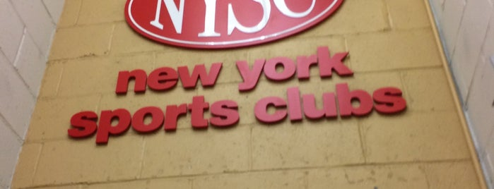 New York Sports Clubs is one of Sweat!.