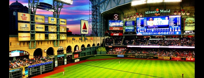 Minute Maid Park is one of Ballparks.