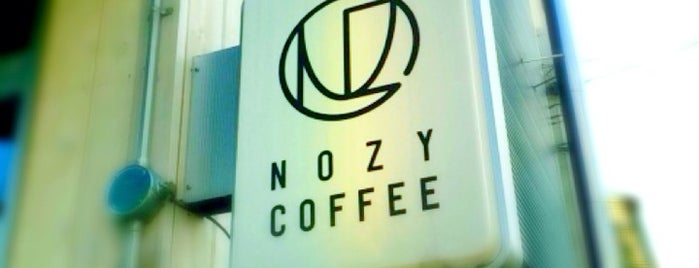 NOZY COFFEE is one of Nakameguro.