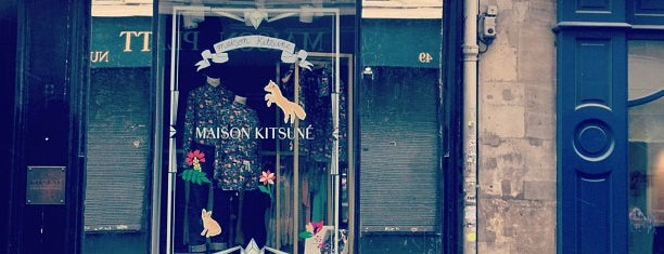Kitsuné is one of Paris // For Foreign Friends.