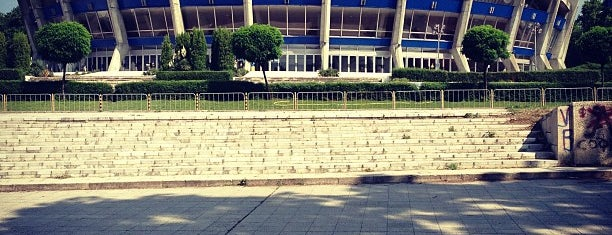 Дворец на културата и спорта (Palace of Culture and Sports) is one of Popular Spots in Varna, Bulgaria.