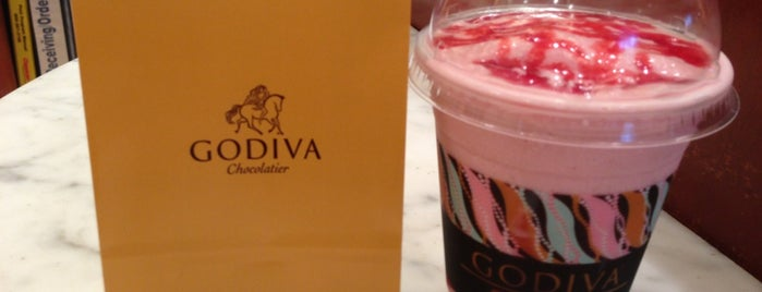 Godiva Chocolatier is one of Yum.